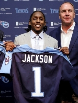 Titans sign first-round draft pick Adoreé Jackson